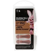 Duracell Hörgerätebatterie DA 312 AC Zn/Luft 1,4Volt 160mAh
