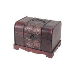 HMF Schatzkiste Japan, Schatztruhe, aus Holz, 30 x 23 x 21 cm