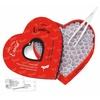 tease & please Spiel Herz voller Erotik, Entdeckungsreise für Paare rot