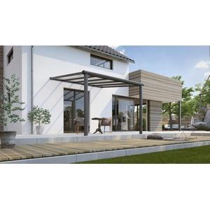 Terrassenüberdachung Compact Line 3040x30000mm anthrazit