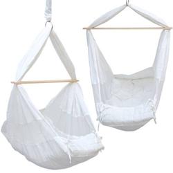 Babyhängematte Baby-Feder-Wiege mit Spreizstab   100% Baumwolle Naturstoff   Kinderhängematte Hängew