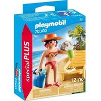 Playmobil Special Plus Urlauberin mit Liegestuhl 70300