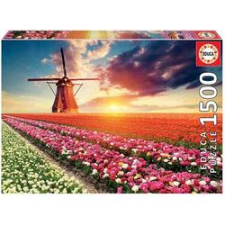 Educa - Tulpen Landschaft 1500 Teile Puzzle