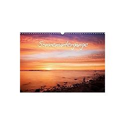 Sonnenuntergänge (Wandkalender 2021 DIN A3 quer)
