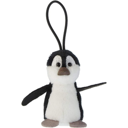 Nici Plüschfigur Zoo Friends Plüschanhänger (Pinguin) Pinguin - 8 cm
