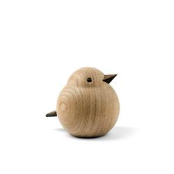 Novoform Tierfigur Papa Sparrow, Eiche Natur