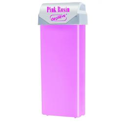 depileve Wachspatrone Pink Rosin Wax mit breitem Rollaufsatz 100 ml