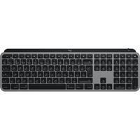 - Tastatur - hinterleuchtet - Bluetooth, 2.4 GHz - QWERTY - Spanisch - Space-grau