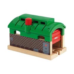 BRIO® Spielzeug-Eisenbahn Lokschuppen mit Tor