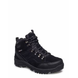 Skechers Mens Relment - Pelmo - Waterproof Shoes Boots Winter Boots Schwarz SKECHERS Schwarz