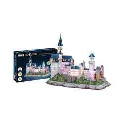 Revell® 3D-Puzzle Schloss Neuschwanstein 00151, 128 Puzzleteile