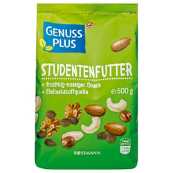 GENUSS PLUS Studentenfutter 500,0 g