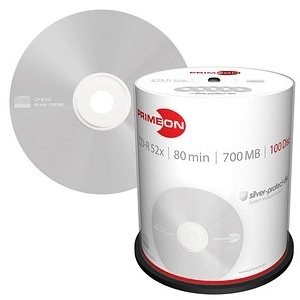 100 PRIMEON CD-R