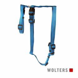 Wolters Geschirr Soft & Safe No Escape aqua Panikgeschirr, Größe: L