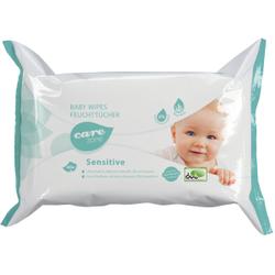 Care Zone Babywipes Sensitive Reinigungstücher, Feuchttücher für die milde Babypflege, 1 Flowpack mit 80 Tüchern