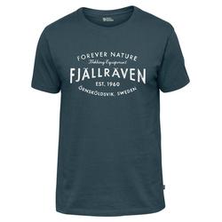 """Fjällräven T-Shirt Herren T-Shirt """"Fjällräven Est. 1960"""" blau L"""