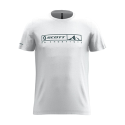 Scott T-Shirt 10 No Shortcuts Weiß