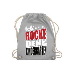 Shirtracer Turnbeutel Ich rocke den Kindergarten - Kindergarten - Turnbeutel - Jutebeutel & Taschen, turnbeutel kindergarten