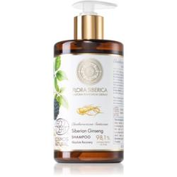 Natura Siberica Flora Siberica Siberian Ginseng hydratisierendes Shampoo für trockenes und beschädigtes Haar 480 ml