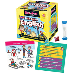 Spiel, Lernspiel BrainBox, Let's Learn English