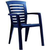 BEST Freizeitmöbel Florida Stapelsessel 60 x 66 x 89 cm blau