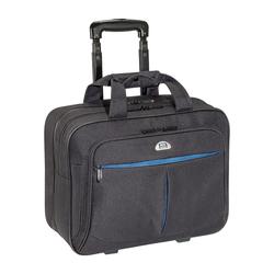 PEDEA Trolley Rollkoffer PREMIUM AIR Laptop-Fach bis 17,3 Zoll (43,9 cm) mit Übernachtungsfach, schw