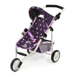 BAYER CHIC 2000 Jogging-Buggy LOLA Stars lila