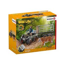 Schleich® Wild Life 42351 Quad mit Anhänger und Ranger Set