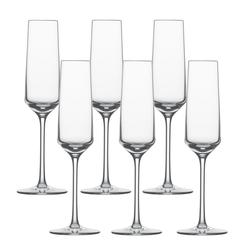 SCHOTT ZWIESEL Serie PURE Sektglas 6 Stück Inhalt 209 ml Sekt