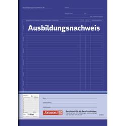 Ausbildungsnachweis-Heft Blau