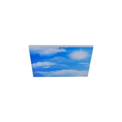 Leuchtendirekt LED-Deckenleuchte CCT Cloud, 59,5 x 59,5 cm