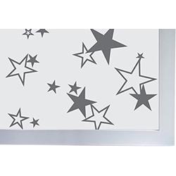 Fensterfolie Fenster Sichtschutzfolie Sterne,15502 Fensterfolie, JOKA international