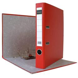 DIN A4 Aktenordner 5 cm PP Kunststoff Rot