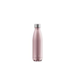 FLSK Isolierflasche, FLSK Trinkflasche Isolierflasche Edelstahl 500ml Doppelwandig Thermoflasche rosa