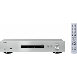 Yamaha NP-S303 Netzwerkplayer (Internetradio) silberfarben