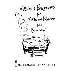 Klassische Evergreens  Flöte und Klavier - Buch