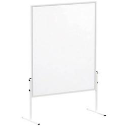 Maul Moderationstafel MAULsolid (B x H) 120cm x 150cm Papier Weiß Inkl. Rollen, Pinntafel, beidseit