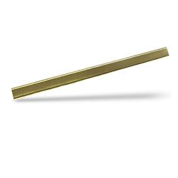 Clipbandverschlüsse Beutelverschlüsse 120 x 8 mm, Gold, 1000 Stk.
