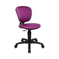 TOPSTAR Schreibtischstuhl Drehstuhl High Kid, blau lila