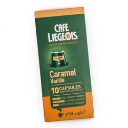 """Kaffeekapseln Café Liégeois """"Caramel"""", 52 g, 10 Stk."""