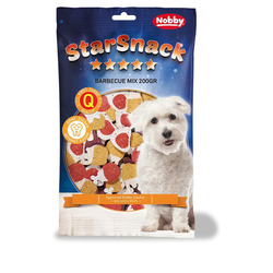 (0,95 EUR/100g) Nobby Starsnack Barbecue Mix 200 g