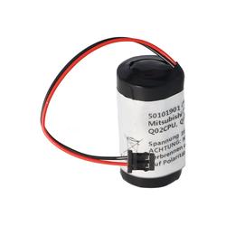 AccuCell Batterie passend für Mitsubishi Q6BAT CR17335SE, Q Batterie