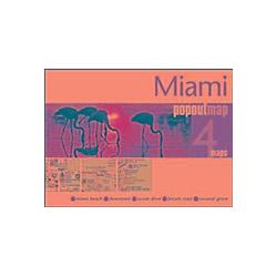 Miami PopOut Map. Popout Maps  - Buch