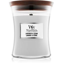 Woodwick Lavender & Cedar Duftkerze 275 g