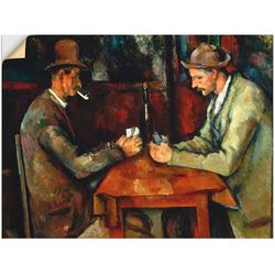 Artland Wandbild Stillleben mit Petunien, Stillleben (1 Stück) 80 cm x 60 cm
