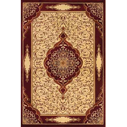 Bordürenteppich Marrakesh - Romance - (Rot)