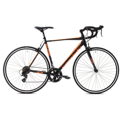 breluxx Rennrad 28 Zoll Rennrad Road ECLIPSE 4.0 -black orange, 11.2kg, 14 Gang, Kettenschaltung
