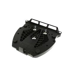 SW-Motech Adapterplaat voor ALU-RACK - Voor Givi/Kappa Monolock. Zwarte., zwart, Eén maat