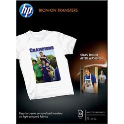 HP - Transferpapier zum Aufbügeln - A4 (210 x 297 mm) - 12Stck. - für Deskjet 2050 J510, 3050 J610 Envy 11X D411 Off