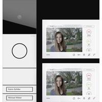 Gira Video-Türsprechanlage System 106 Video AP 7 Set 2WE 2432902